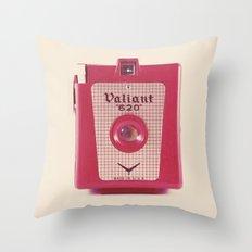 Valiant Throw Pillow
