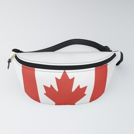 red maple leaf flag of Canada Fanny Pack