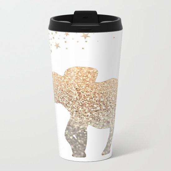 GOLD ELEPHANT Metal Travel Mug