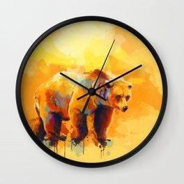 Bear Dream Wall Clock