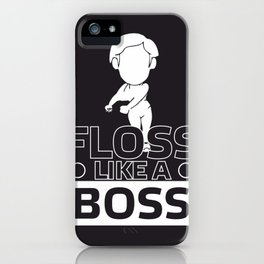 Floss Like a Boss Flossin Dance #society6 iPhone Case