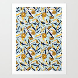 Citrus Sunshine Art Print