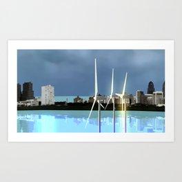 Fly: Free Wind Art Print