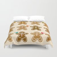 ginger Duvet Covers featuring Ginger by Kakel