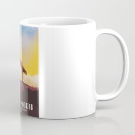 Angel of the North Travel poster. Coffee Mug
