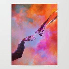 La Création d'Adam - Dorian Legret x AEFORIA Poster