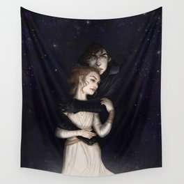 There is no light without darkness Wall Tapestry