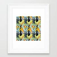 ballet Framed Art Prints featuring Ballet by BellagioVista