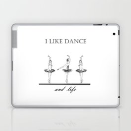 three ballerinas dancing  ( https://society6.com/vickonskey/collection ) Laptop & iPad Skin