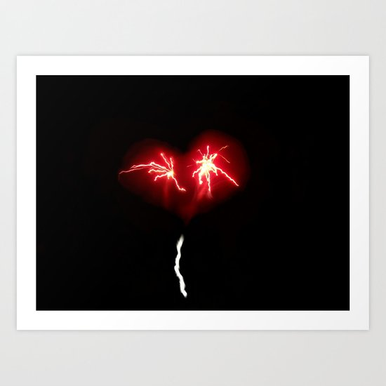 You Need Two Sparks for Love to Work Art Print