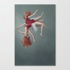 Dualitease Canvas Print