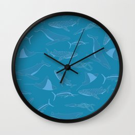 Giants of the Sea Wall Clock