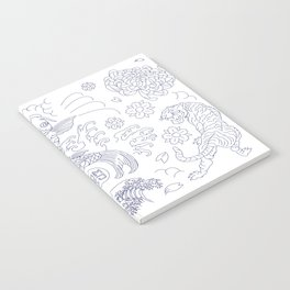 Japanese Tattoo Notebook