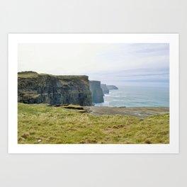 Cliffs of Moher2 Art Print