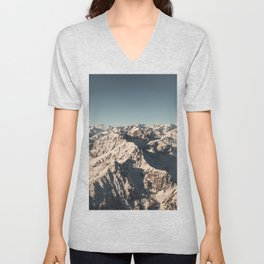 Lord Snow - Landscape Photography Unisex V-Neck