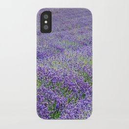 LAVENDER MOOD iPhone Case