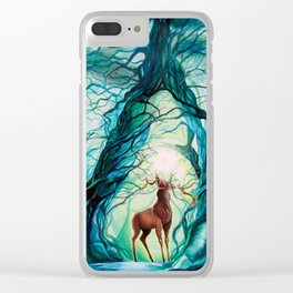 Creation - In the beginning Clear iPhone Case