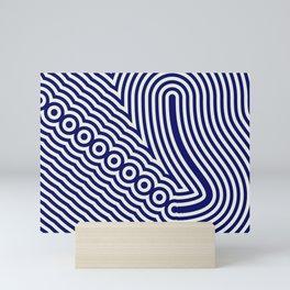 Intricate marine design Mini Art Print