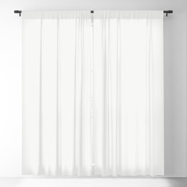 Neutral Off White Solid Color Parable to Ultra White 7006-24 by Valspar Blackout Curtain