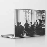 starbucks Laptop & iPad Skins featuring Starbucks B/W by Vincent Brod