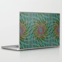 fractal Laptop & iPad Skins featuring Fractal by David Zydd