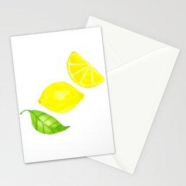 Lemons Stationery Cards