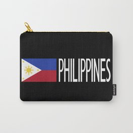 Philippines: Filipino Flag & Philipinnes Carry-All Pouch