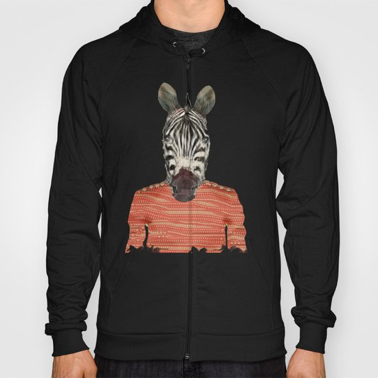 charlie zebra Hoody