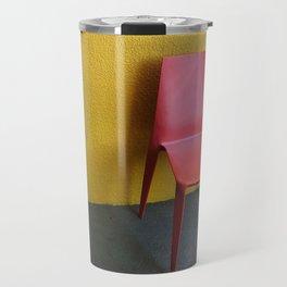Pink + Yellow Travel Mug