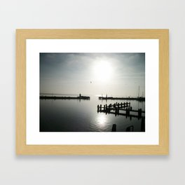 Holland shore Framed Art Print