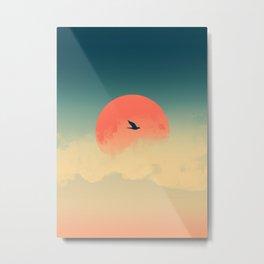 Lonesome Traveler Metal Print