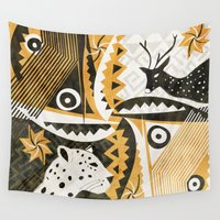 safari Wall Tapestries featuring Safari by AndreaEbert.com