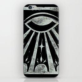 Clarity (Black) iPhone Skin