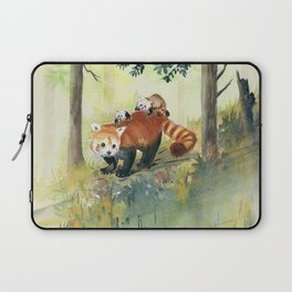 Red Panda Family Laptop Sleeve