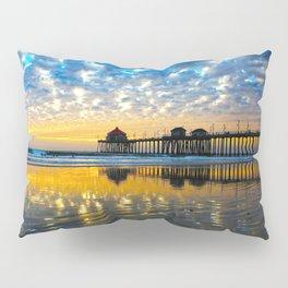 Huntington Beach Sunset   12/17/13   Pillow Sham