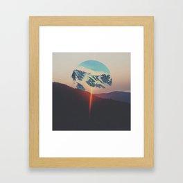 Time Erodes Framed Art Print