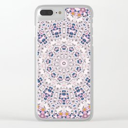 Mandala of desires Clear iPhone Case
