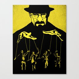 The Puppeteer Canvas Print