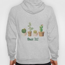 Succ It Succulent Hoody
