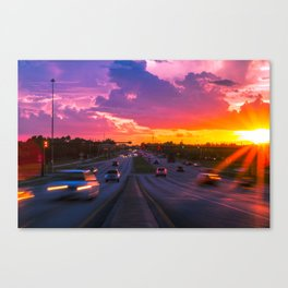 (FLAWda)x3 Canvas Print