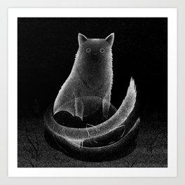 Drawlloween 2013: Spirit Art Print