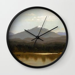 Albert Bierstadt - Laramie Peak Wall Clock