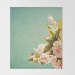 FlowerMent Throw Blanket
