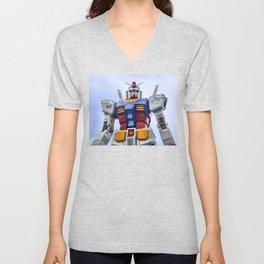Gundam Stare Unisex V-Neck