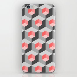Kinetic art cubes iPhone Skin