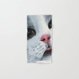 Watercolor Cat Hand & Bath Towel