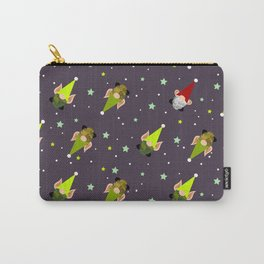 Holiday Elves-gnomes and Santa v2 Carry-All Pouch