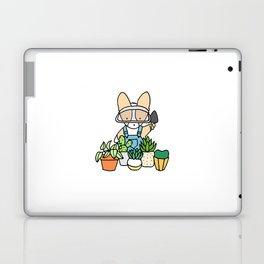 Corgi Garden Succulents Laptop & iPad Skin