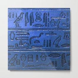 Hieroglyphs 2014-1027 Metal Print