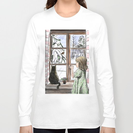 Window dreaming. Long Sleeve T-shirt